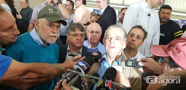 Em São Carlos, Governador Márcio França anuncia investimentos para Região Central do Estado -