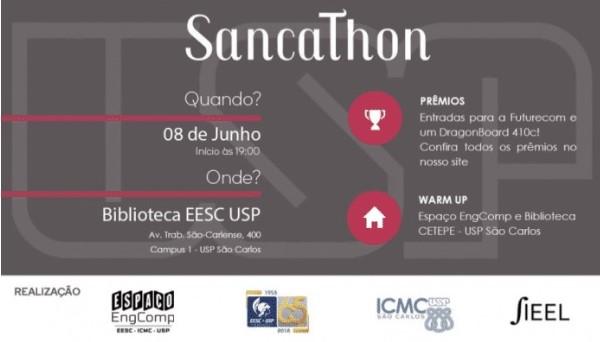 1º SancaThon: Crie uma solução para um problema de São Carlos em 31 horas -