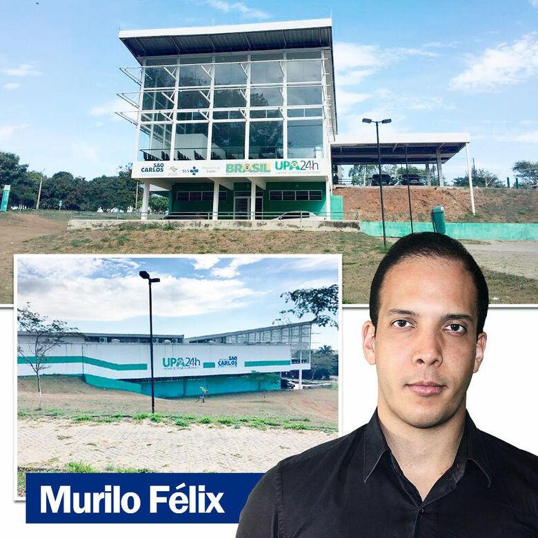 Murilo Félix faz representação pela abertura da UPA do Santa Felícia no MPF -