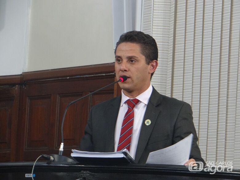 Vereador Paraná Filho quer discussão sobre projeto que altera Plano de Carreira do funcionalismo - Crédito: Divulgação