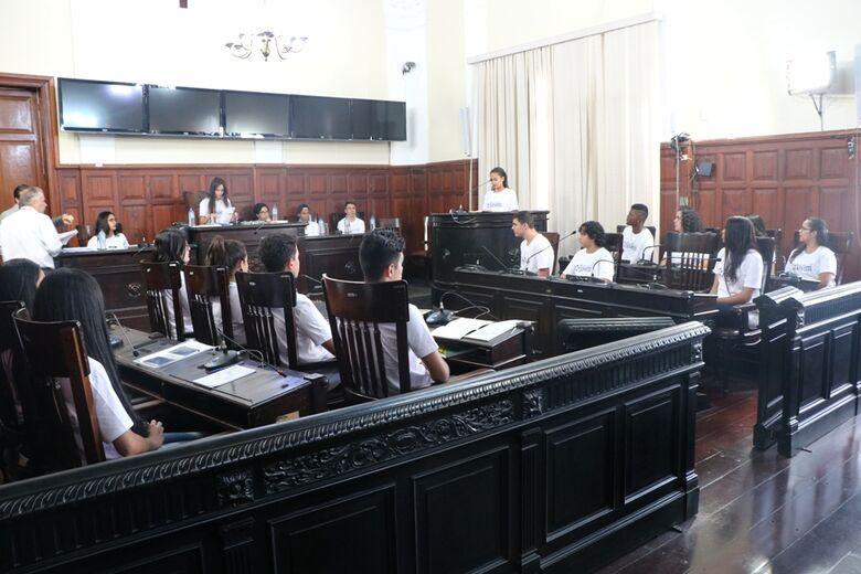 Câmara Municipal realiza Parlamento Jovem São-Carlense 2018 - Crédito: Divulgação