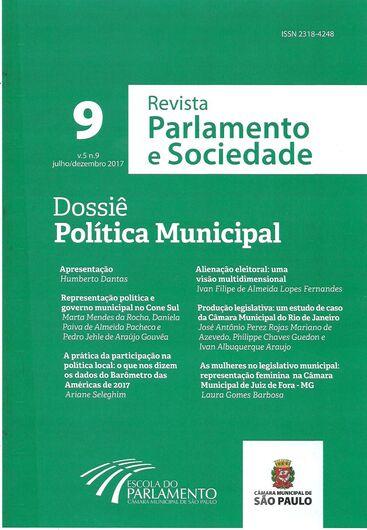 9ª edição da Revista Parlamento e Sociedade: Ariane Seleghim escreve sobre a participação popular no Legislativo - Crédito: Divulgação