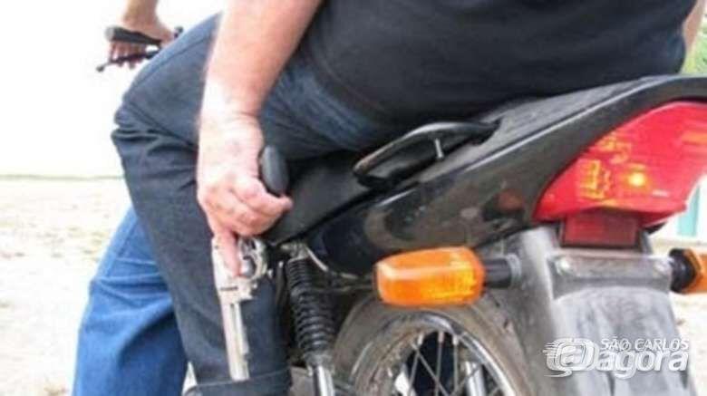 """Motociclista é vítima de """"saidinha de banco"""" no Centro - Crédito: Arquivo/SCA"""