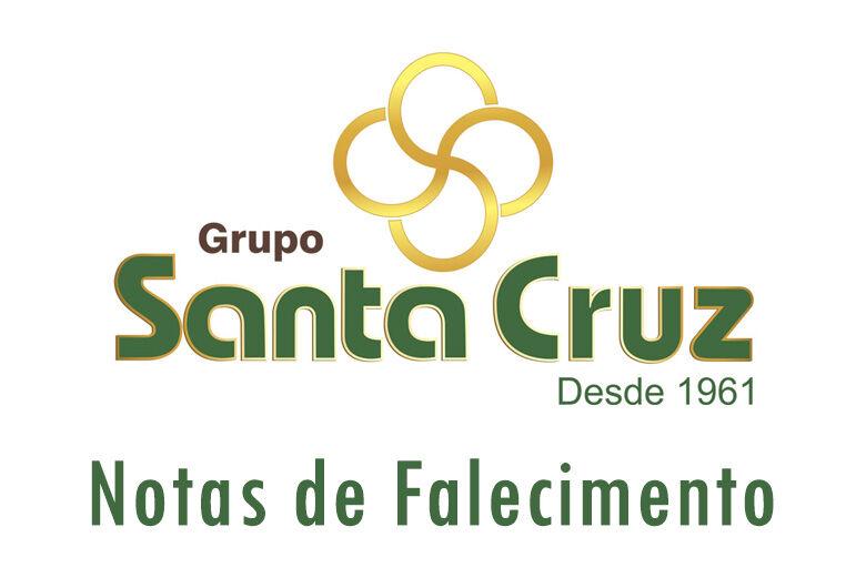 Grupo Santa Cruz informa as notas de falecimento -