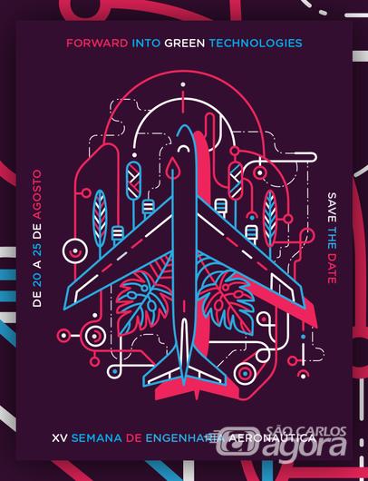 Abertas s inscrições para a 15ª Semana de Engenharia Aeronáutica EESC/USP - Crédito: Divulgação