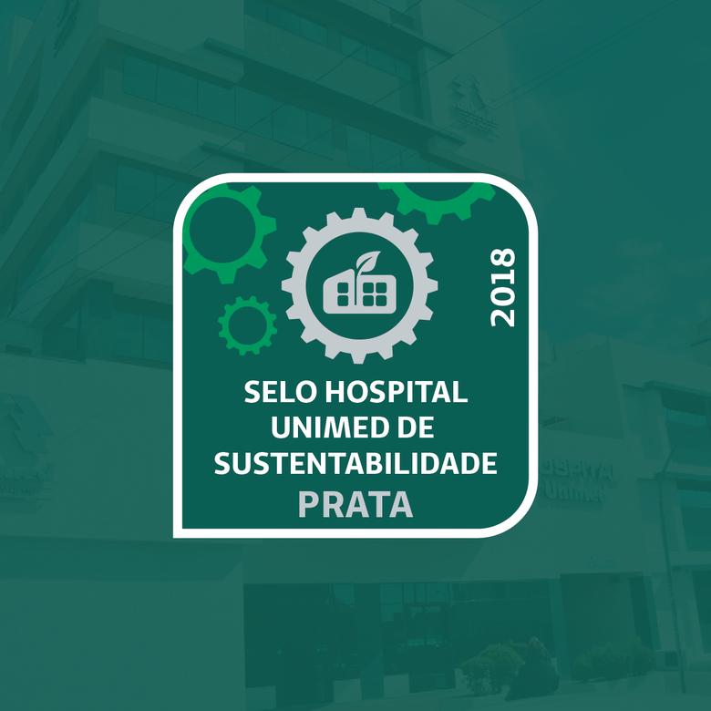 Selo reconhece práticas de Sustentabilidade do Hospital Unimed São Carlos -