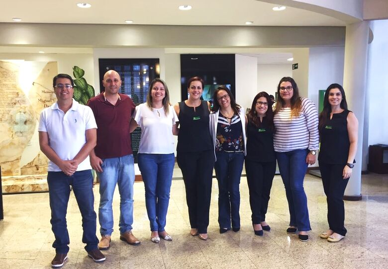 Acisc recebe visita de representantes da Associação Comercial de Franca - Crédito: Divulgação
