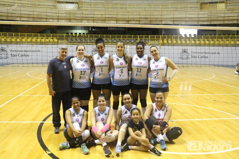 Após duas derrotas, equipe são-carlense fez a lição de casa na APV - Crédito: Marcos Escrivani