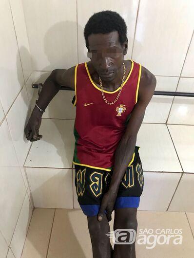 Procurado por roubo é capturado no Aracy II - Crédito: Luciano Lopes