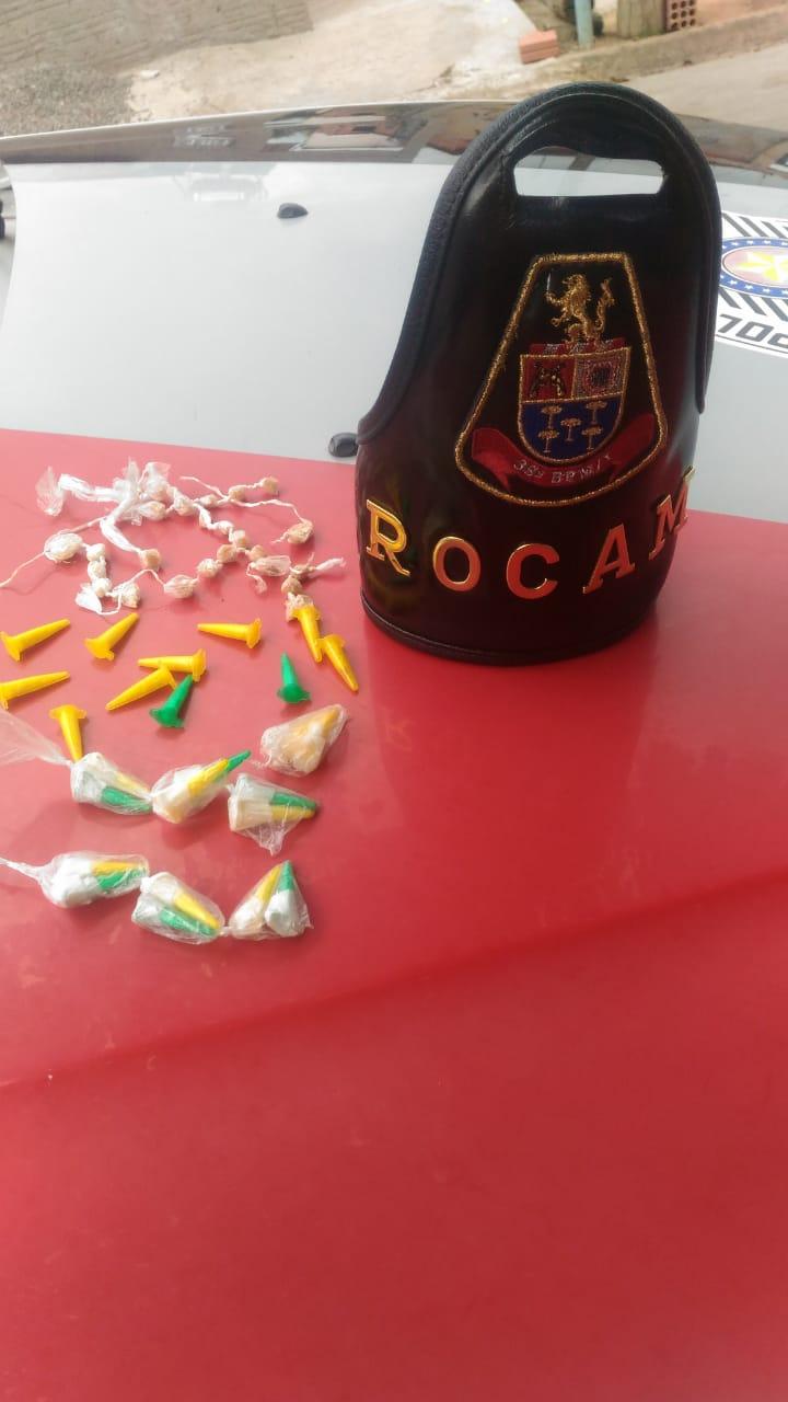 Operação conjunta entre Rocam e equipe Delegada flagra traficantes no Antenor Garcia -