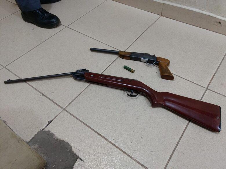 Acusado de ameaçar homem com arma de fogo é preso em Ribeirão Bonito - Crédito: Luciano Lopes