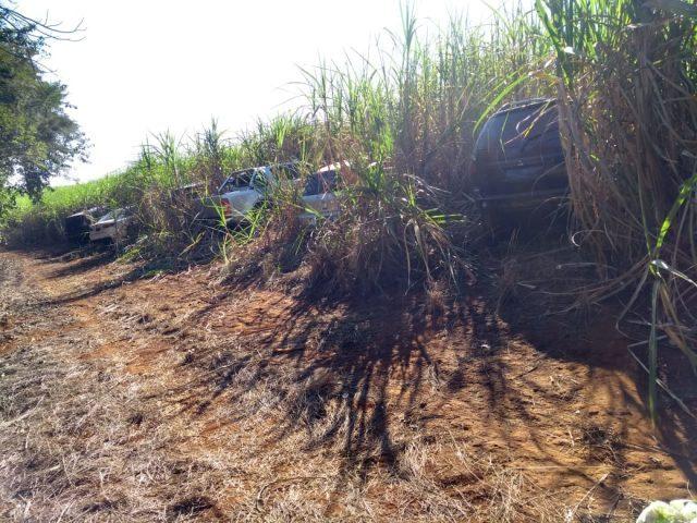Veículos usados por quadrilha que atacou bancos em Rio Claro são localizados - Crédito: Grupo Rio Claro