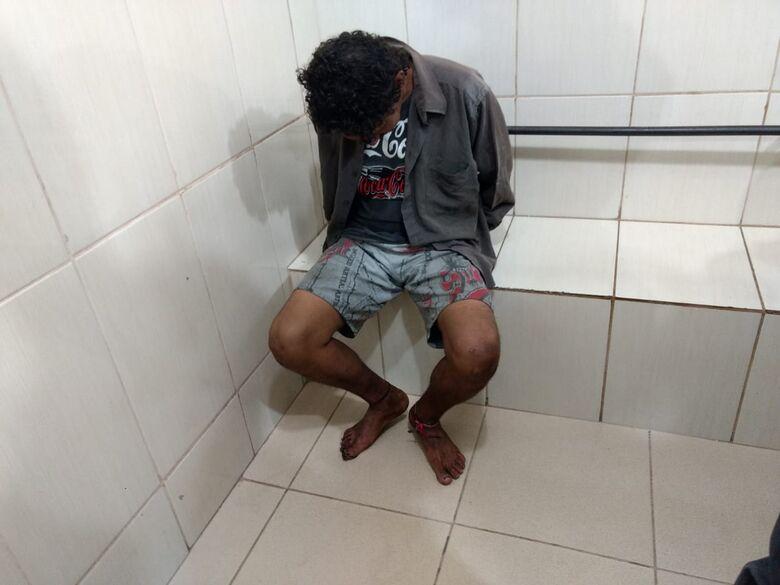 Vítima flagra ladrão em furto a residência na Vila Isabel - Crédito: Luciano Lopes