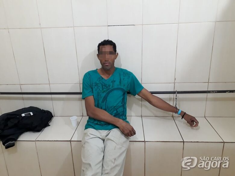 Homem é detido após descumprir medida protetiva no Parque Sisi - Crédito: Marco Lúcio