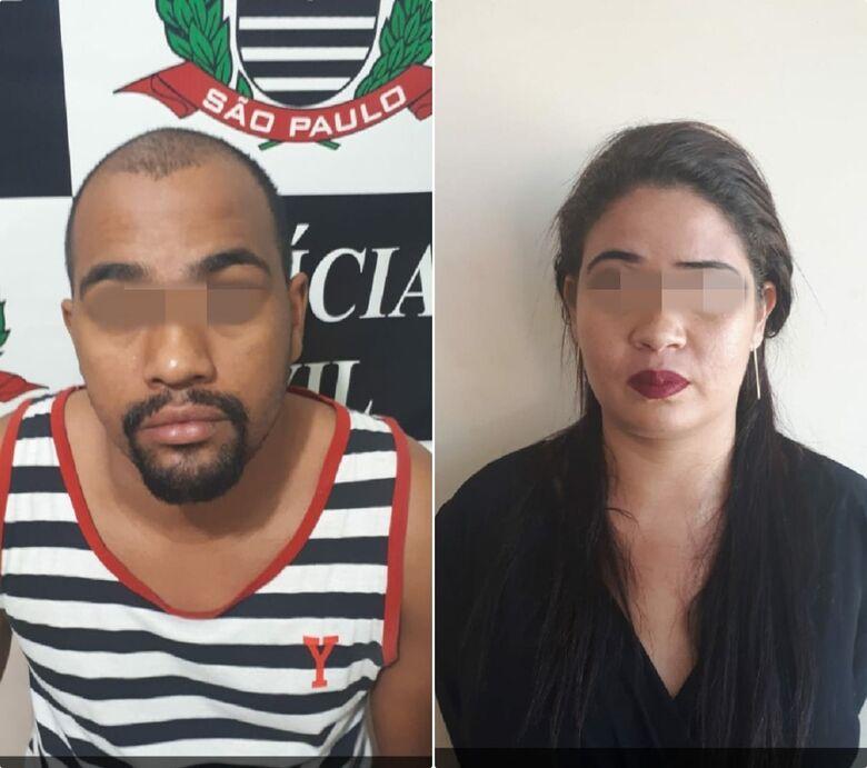 Casal se deu mal em São Carlos. - Crédito: Divulgação/Polícia Militar