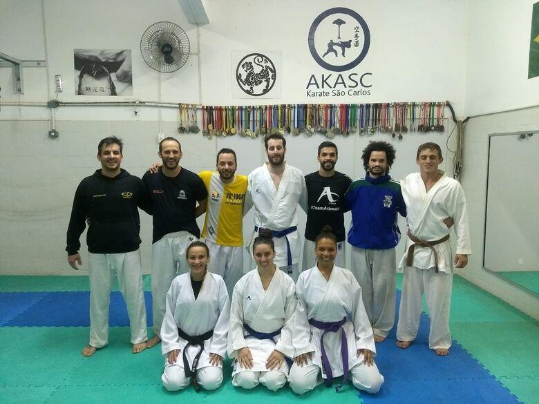 Akasc irá representar São Carlos no karatê - Crédito: Divulgação