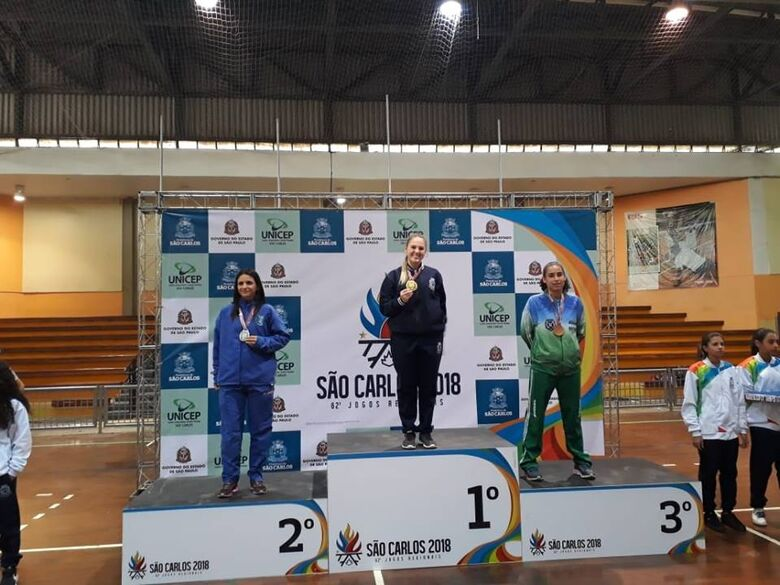 Equipe Wada conquista 5 medalhas nos 62º Jogos Regionais - Crédito: Divulgação
