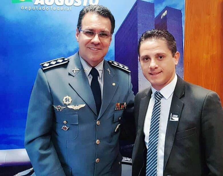 Vereador Paraná Filho conquista mais de R$ 500 mil para segurança pública - Crédito: Divulgação