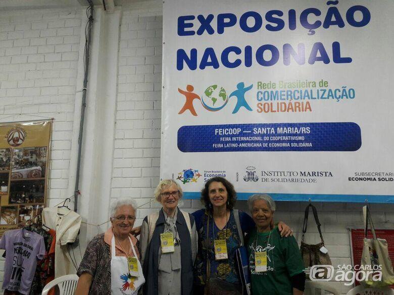 Economia Solidária de São Carlos participa de feira internacional em Santa Maria/RS - Crédito: Divulgação