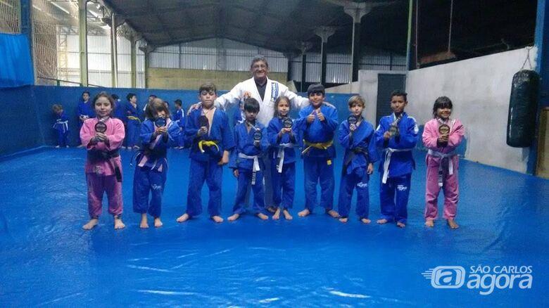 Equipe são-carlense brilha no Mundial de Jiu-Jitsu - Crédito: Marcos Escrivani