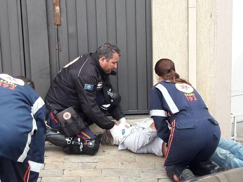 Ciclista fica ferido após colisão na Vila Sônia - Crédito: Maycon Maximino