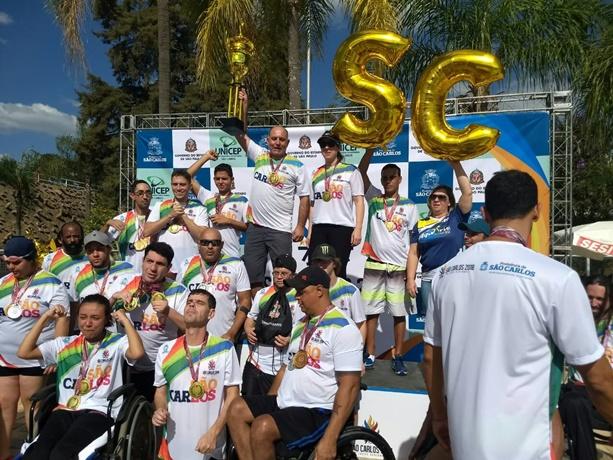 Equipe ACD fez história e conquistou o tri nos Jogos Regionais - Crédito: Marcos Escrivani