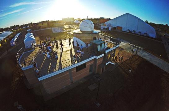 Observatório Astronômico da UFSCar terá atividades no eclipse lunar desta sexta-feira - Crédito: Divulgação