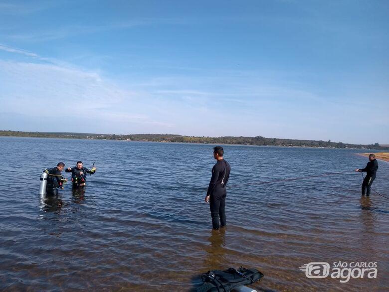 Corpo de jovem que se afogou no Broa ainda não foi encontrado - Crédito: Colaborador