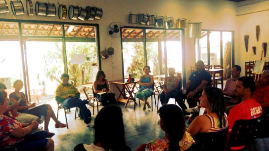 Público é composto por mulheres da cidade de São Paulo e do Vale do Ribeira - Crédito: Divulgação
