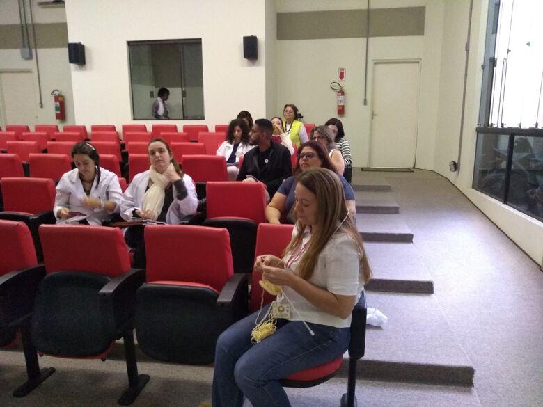 Atividade foi promovida para servidores da USE-UFSCar - Crédito: Vânia Gonçalves