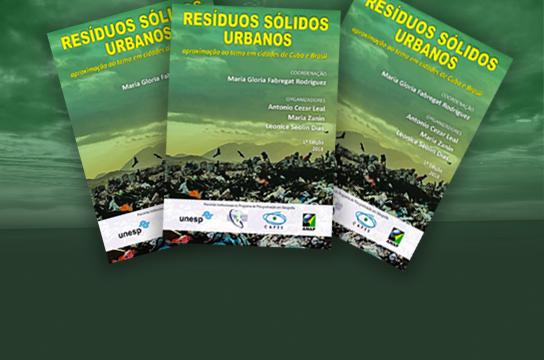 Livro aborda experiências da UFSCar na gestão de resíduos sólidos -