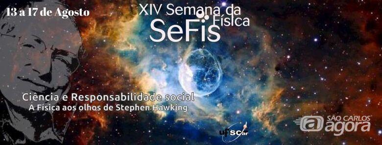 Semana da Física na UFSCar homenageia Stephen Hawking -