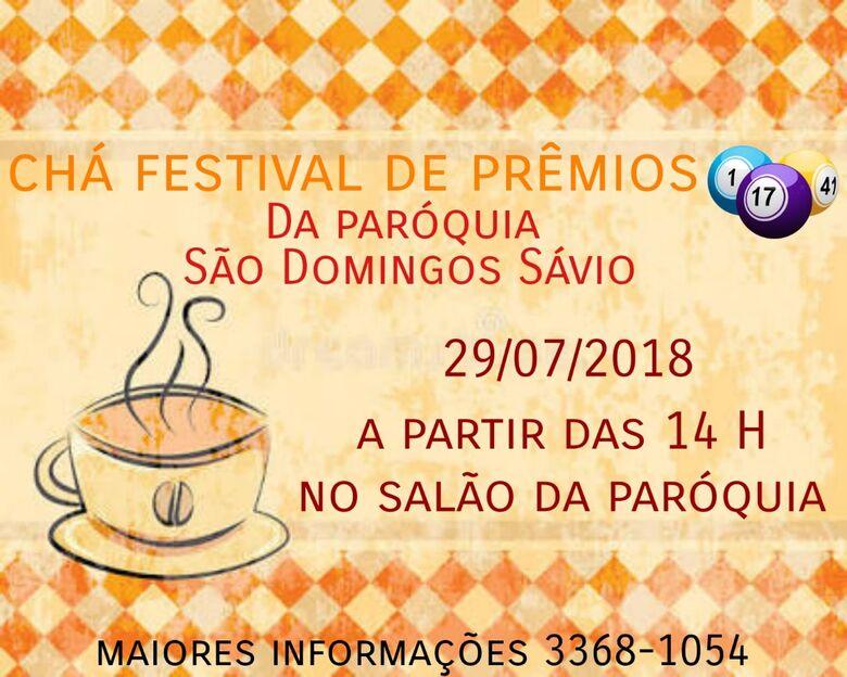 Paróquia São Domingos realiza show de prêmios e chá beneficente -