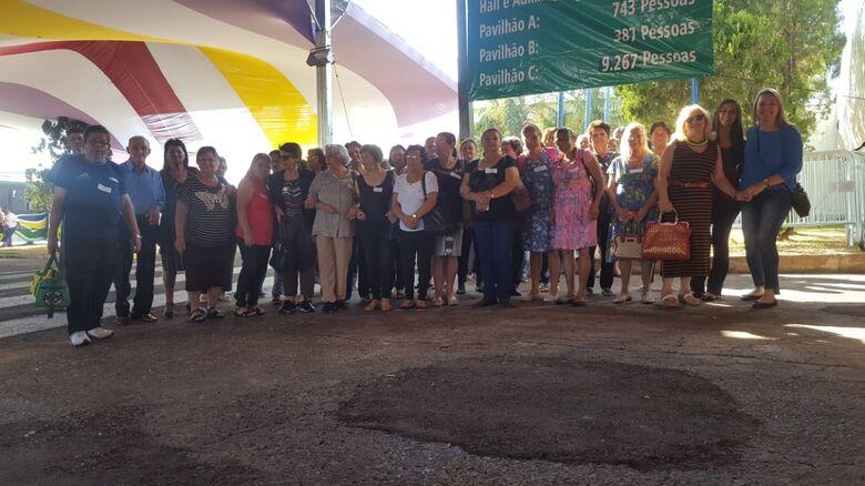 Frequentadores do Centro de Convivência da Melhor Idade de Ibaté visitam Ibitinga - Crédito: Divulgação