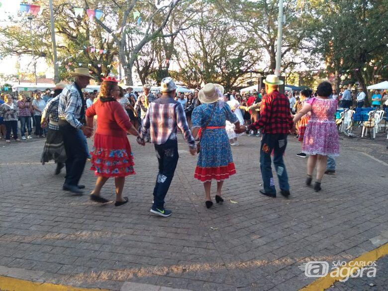 Festa Julina da Economia Solidária agita a Praça da 15 - Crédito: Divulgação