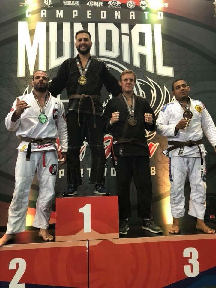 Após três anos de muita batalha, são-carlense é ouro no Mundial de Jiu-Jitsu - Crédito: Divulgação