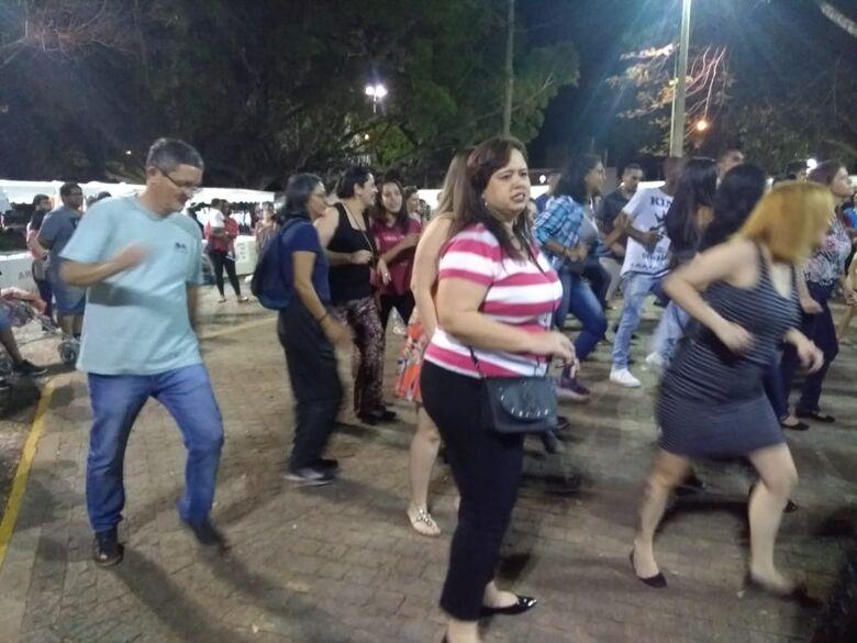 Praça da 15 vira um baile a céu aberto - Crédito: Divulgação
