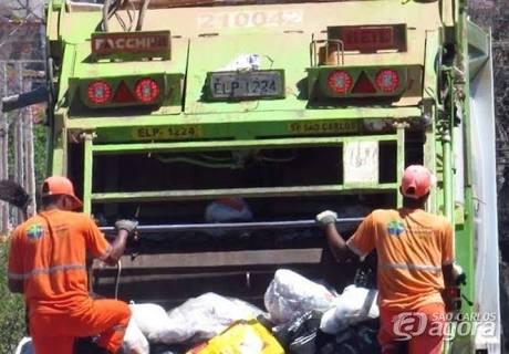 Dias e horários da coleta de lixo em alguns bairros serão alterados -