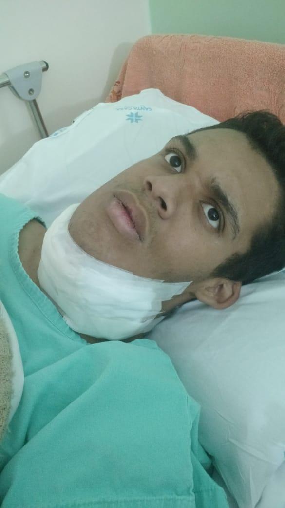 Família passa por trauma após jovem sofrer queda e quebrar dente - Crédito: Divulgação