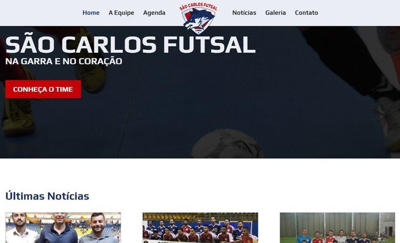 São Carlos Futsal lança site oficial e se prepara para início dos treinos - Crédito: Divulgação