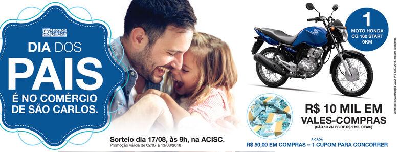 """Acisc lança a campanha """"Dia dos Pais 2018"""" -"""