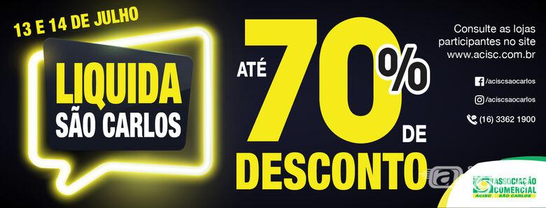 Liquida São Carlos: Acisc convida lojistas para participar -