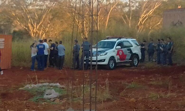 Assaltante morre durante troca de tiros com a PM - Crédito: Divulgação