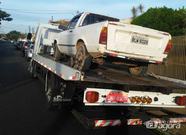 Com ajuda do radar inteligente, veículo furtado é recuperado pela PM - Crédito: Divulgação