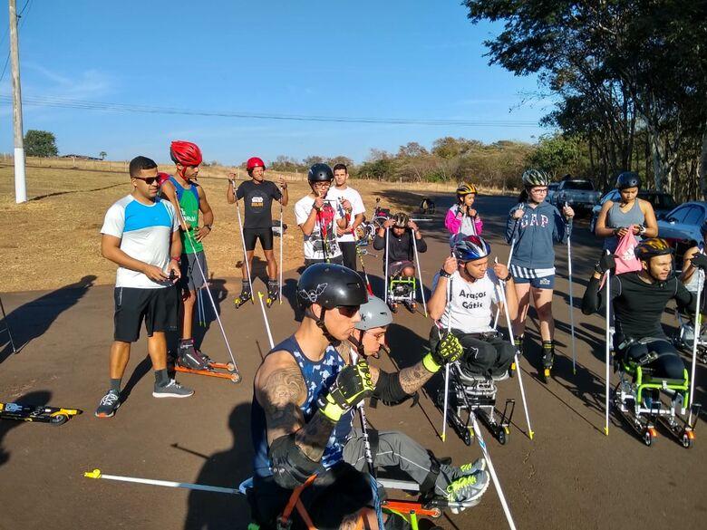 Campeonato de Rollerski acontece neste final de semana em São Carlos - Crédito: CBDN/Divulgação