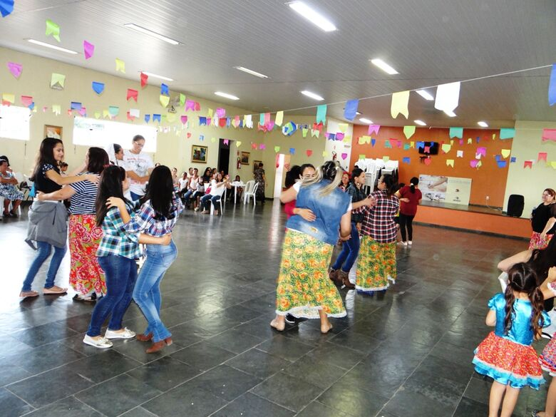 Festa Julina anima alunos do Centro Comunitário de Ibaté - Crédito: Divulgação