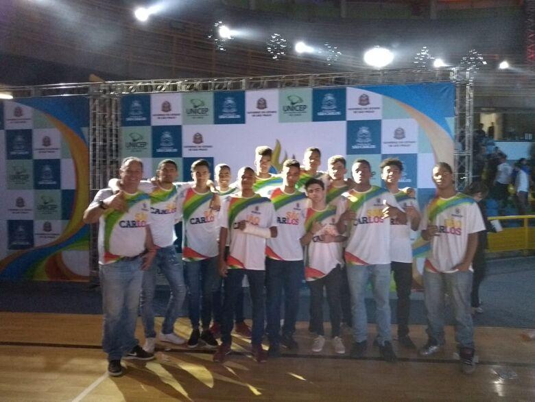 Basquete masculino pega Lins e sonha com medalha nos Regionais - Crédito: Marcos Escrivani