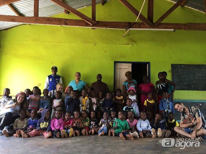 Jovem de São Carlos volta de intercâmbio musical no Malawi cheio de histórias - Crédito: Karoline Ribas