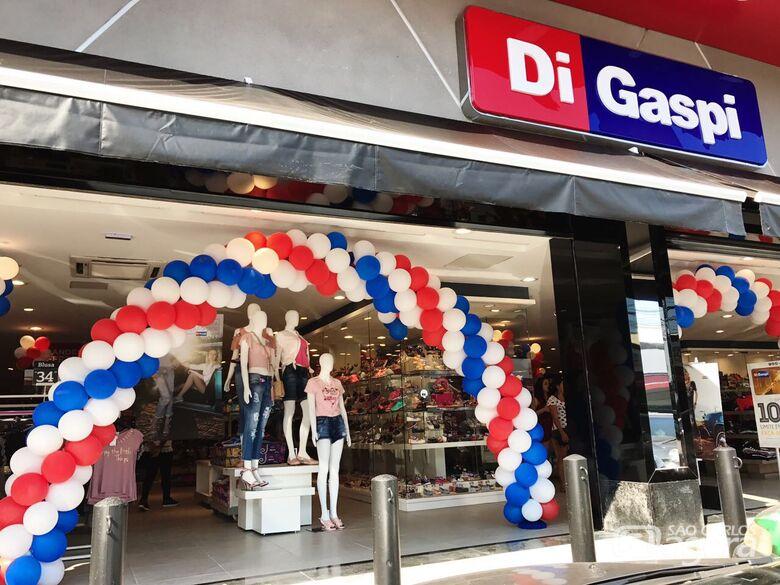 Rede Di Gaspi inaugura loja em São Carlos na próxima sexta-feira (20) - Crédito: Arquivo/SCA