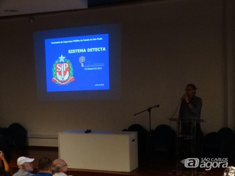 Sistema Detecta é lançado oficialmente em São Carlos - Crédito: Marcos Escrivani